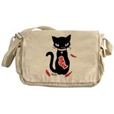 Yummy - Red Messenger Bag