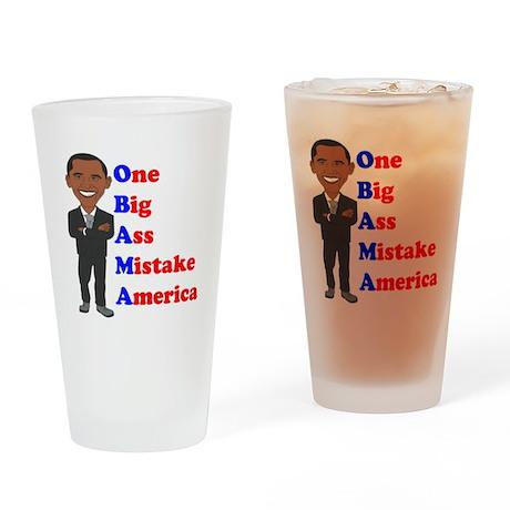Obama Drinking Glass