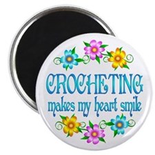 Crocheting Smiles Magnet