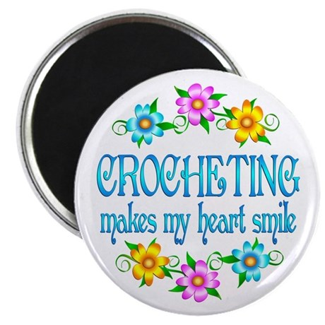 Crocheting Smiles Magnet