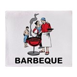 Barbeque Throw Blanket