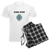 Scuba Diver Men's Pajamas