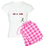 St. Louis Baseball Women's Pajamas