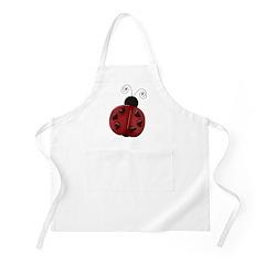 Cute Red Ladybug Apron