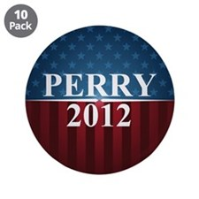 "Perry 2012 3.5"" Button (10 pack)"