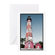 Assateague Lighthouse - Summer Solstice Greeting C