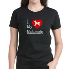 I Love My Malamute Tee