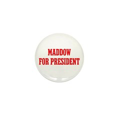 Maddow for President Mini Button (10 pack)