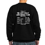 East Coast Earthquake Tour Sweatshirt
