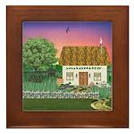 Sunrise Cottage Framed Tile