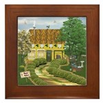 Siopa Leabhar (Bookshop) Framed Tile
