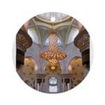 Sheikh Zayed Grand Mosque Men Ornament (Round)
