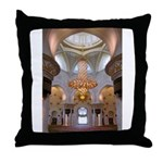 Sheikh Zayed Grand Mosque Men Throw Pillow