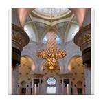 Sheikh Zayed Grand Mosque Men Tile Coaster