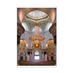 Sheikh Zayed Grand Mosque Men Mini Poster Print