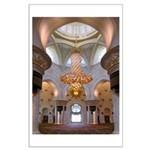 Sheikh Zayed Grand Mosque Men Large Poster