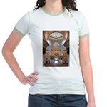 Sheikh Zayed Grand Mosque Men Jr. Ringer T-Shirt