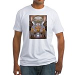 Sheikh Zayed Grand Mosque Men Fitted T-Shirt