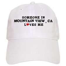 Someone in Mountain View Baseball Cap
