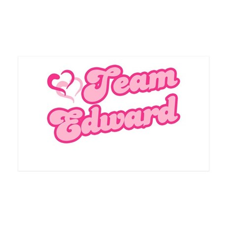 Team Edward Cullen 38.5 x 24.5 Wall Peel
