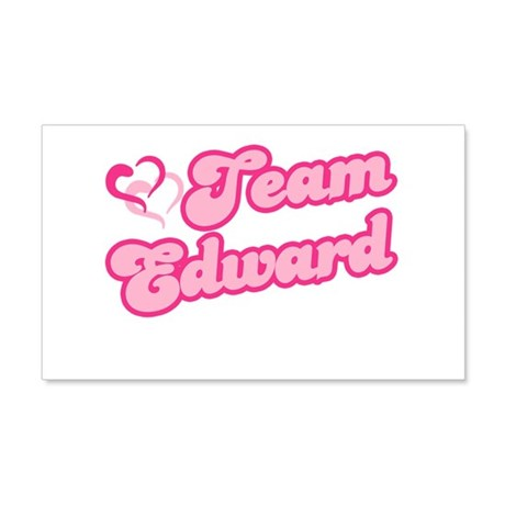 Team Edward Cullen 22x14 Wall Peel