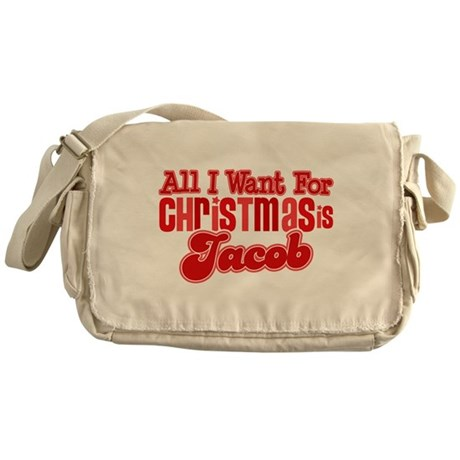 Christmas Jacob Messenger Bag