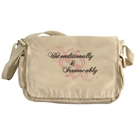 Irrevocably In Love Twilight Messenger Bag