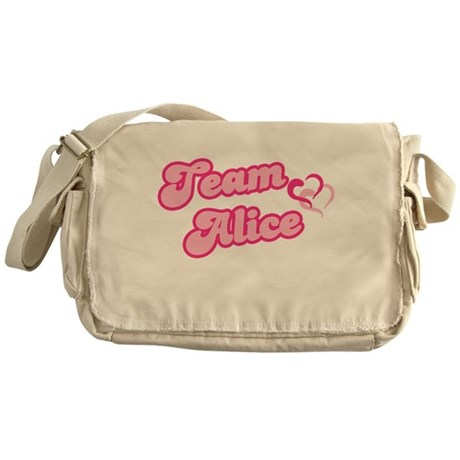 Team Alice Cullen Messenger Bag