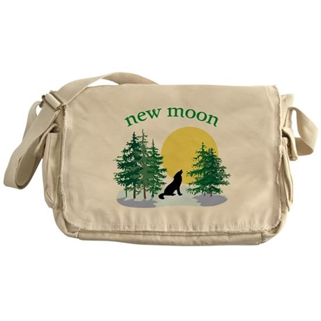 New Moon Howl Messenger Bag