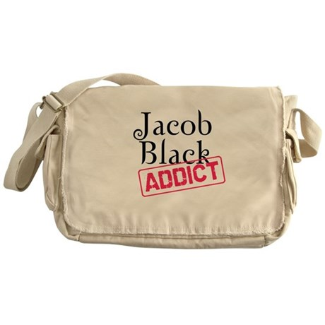 Jacob Black Addict Messenger Bag