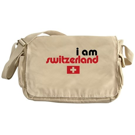 I Am Switzerland Messenger Bag