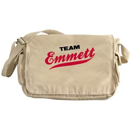 Team Emmett Twilight Messenger Bag