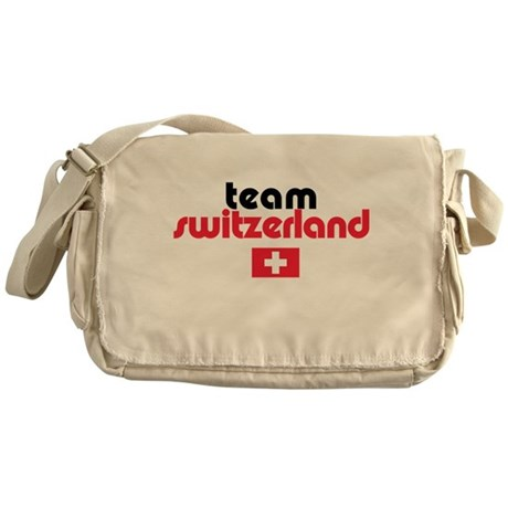 Team Switzerland Messenger Bag