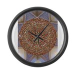 Jewelled Chandelier Large Wall Clock