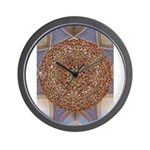 Jewelled Chandelier Wall Clock