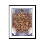 Jewelled Chandelier Framed Panel Print