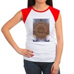 Jewelled Chandelier Women's Cap Sleeve T-Shirt