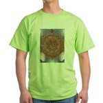 Jewelled Chandelier Green T-Shirt