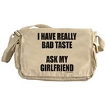 BAD TASTE Messenger Bag