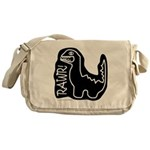 RAWR DINO Messenger Bag