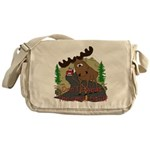 Moose humor Messenger Bag