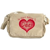 I Heart Dean Messenger Bag
