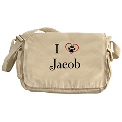 Love Jacob Twilight Messenger Bag