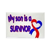 Son CHD Survivor Rectangle Magnet