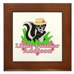 Little Stinker Addison Framed Tile