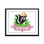 Little Stinker Addison Framed Panel Print