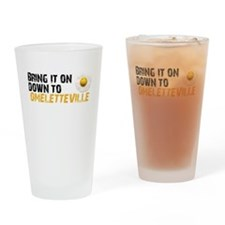 Bring It On Down To Omelettev Drinking Glass