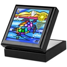 Sea Turtle #8 Keepsake Box