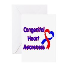 Congenital Heart Defect Greeting Cards (Pk of 20)