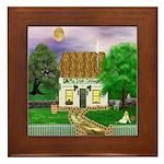 My Irish Cottage Framed Tile